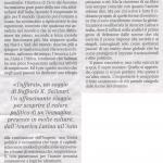 """Recensione di """"Tuffarsi"""" Benedetto Vecchi sul Manifesto"""