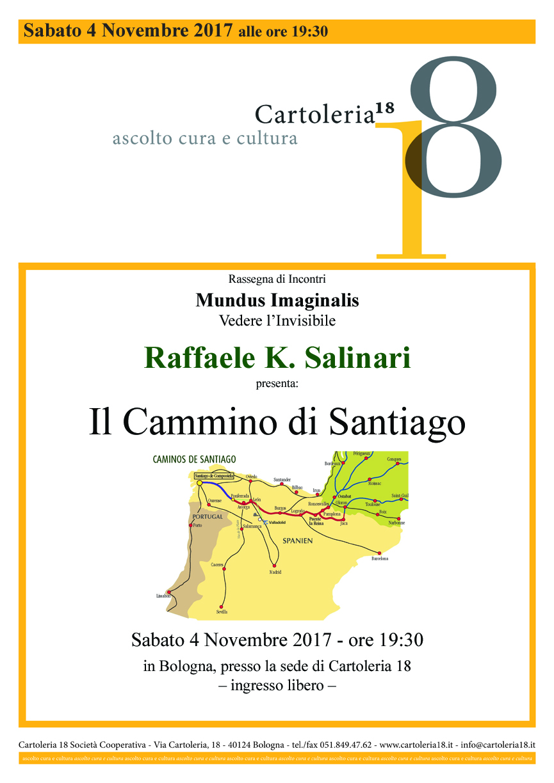 Video de Il Cammino Di Santiago, Cartoleria 18 il 4 Novebre 2017