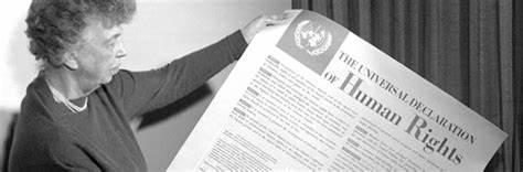 I 70 anni della Dichiarazione dei Diritti dell'Uomo, da Il manifesto 11-12-2018